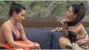 Raíssa Barbosa e Mirella conversaram em A Fazenda - Foto: Reprodução