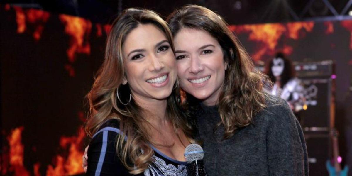 Rebeca Abravanel e Patrícia Abravanel são filhas de Silvio Santos (Foto: Reprodução/SBT)