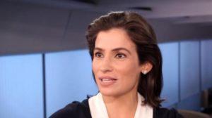 """Renata Vasconcellos é âncora do """"Jornal Nacional"""" (Foto: Divulgação/TV Globo)"""