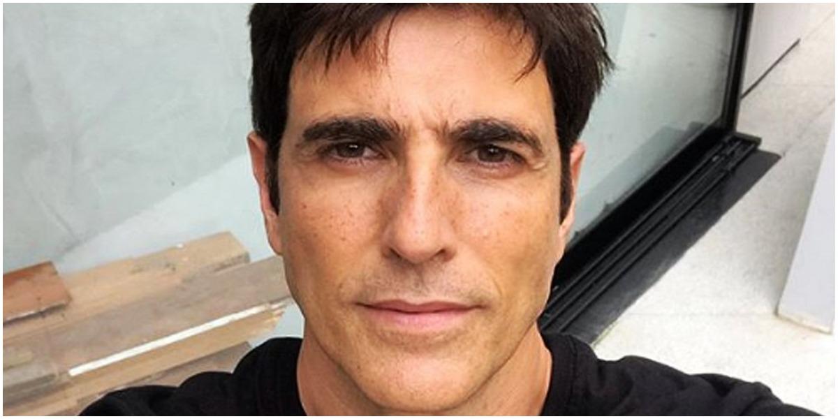 O ator global Reynaldo Gianecchini comentou relação na novela - Foto: Reprodução
