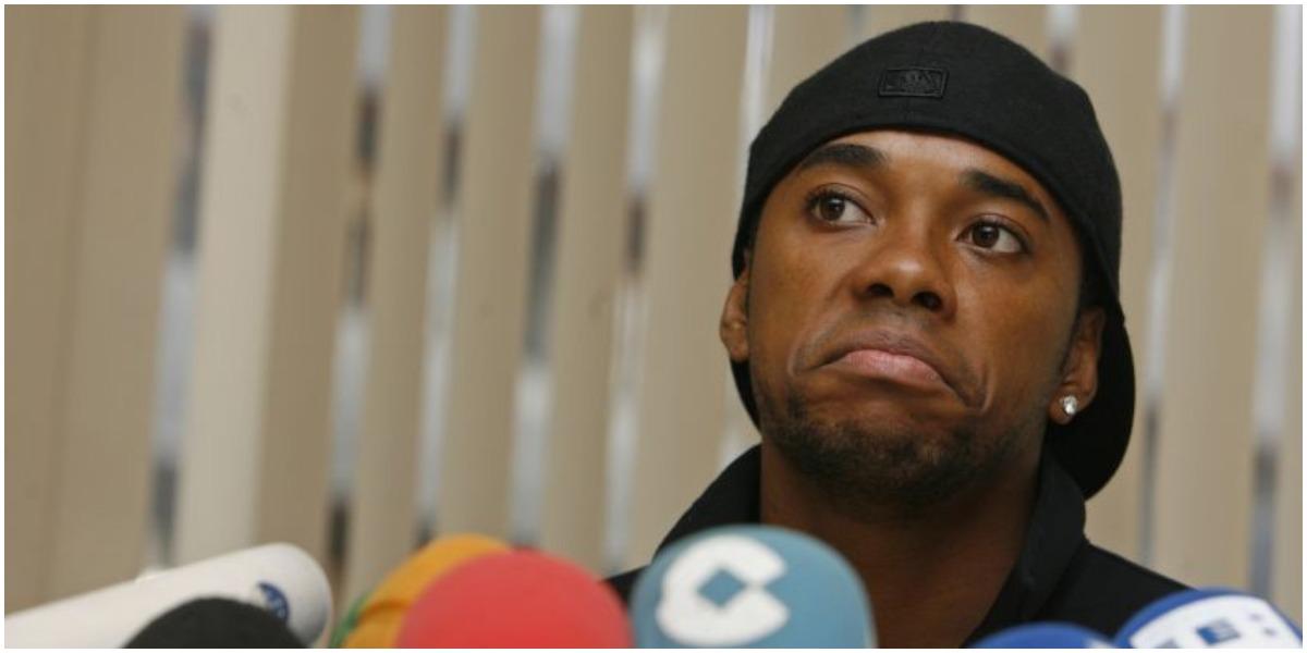 Robinho se revoltou com a Globo após divulgação - Foto: Reprodução