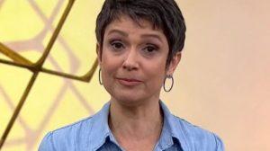 """Sandra Annenberg no programa """"Como Será?"""" (Foto: Reprodução/TV Globo)"""