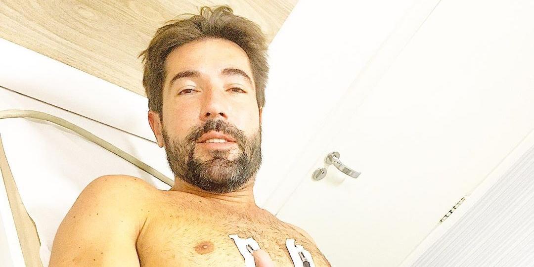 Sandro Pedroso ficou entre a vida e a morte (Foto: reprodução)
