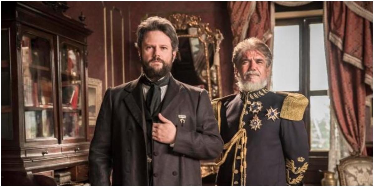 O ator Selton Mello é o protagonista de Nos Tempos do Imperador, novela da Globo - Foto: Reprodução