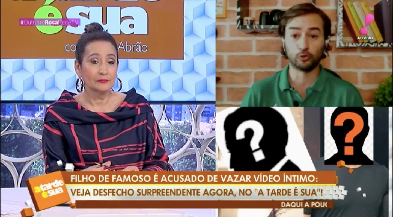 Sonia Abrão durante o 'A Tarde É Sua' (Foto: reprodução/RedeTV!)