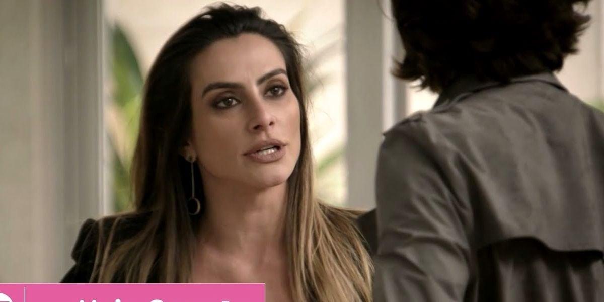 Tamara entra em discussão em cena da novela das sete