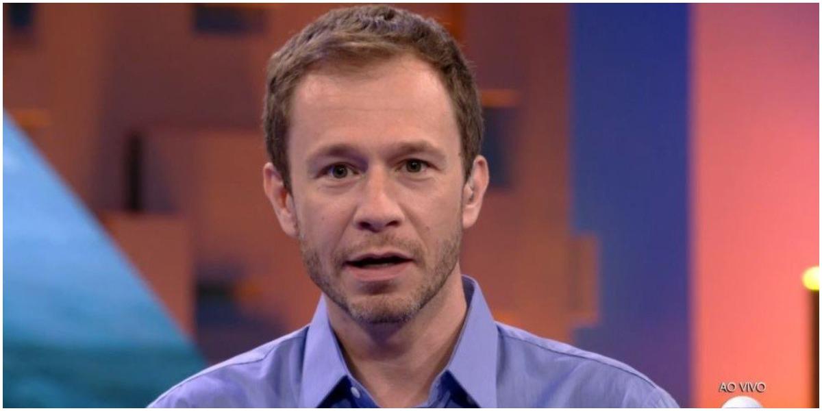 O apresentador Tiago Leifert falou sobre o nascimento da filha e seu programa na Globo - Foto: Reprodução