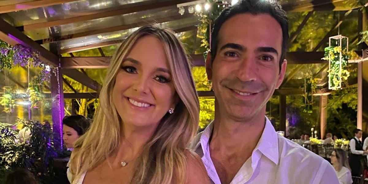 Ticiane Pinheiro e César Tralli estão juntos há quase três anos (Foto: Reprodução/Instagram)