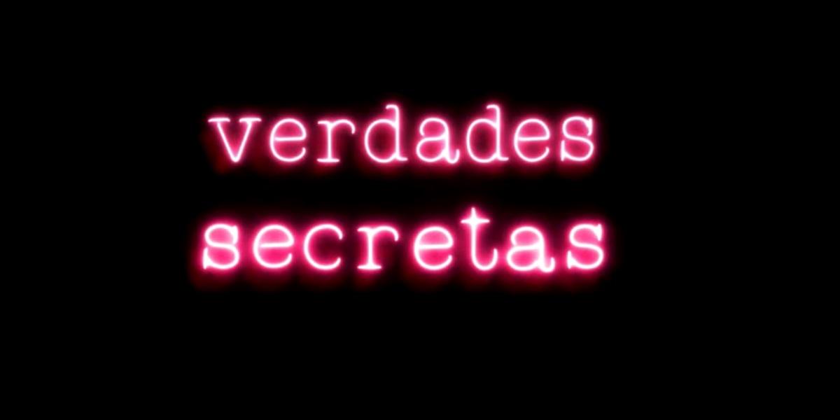 Globo: logotipo com os dizeres verdades secretas