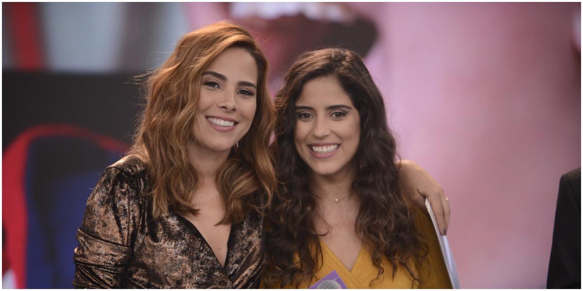 Wanessa e Camila, filhas de Zezé, se encontraram depois de meses longe (Foto: Reprodução)