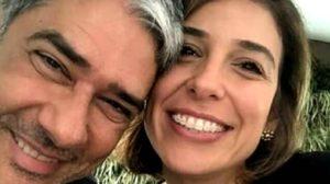 William Bonner é casado com Natasha Dantas (Foto: reprodução)