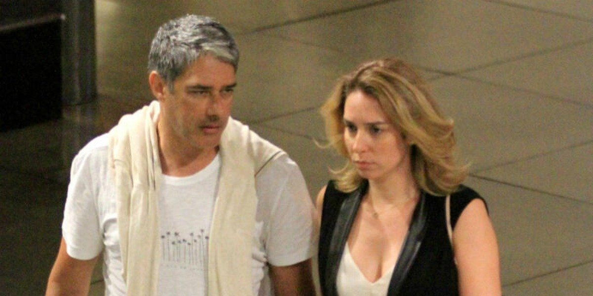 William Bonner é casado com Natasha Dantas e ex de Fátima Bernardes (Foto: AgNews)