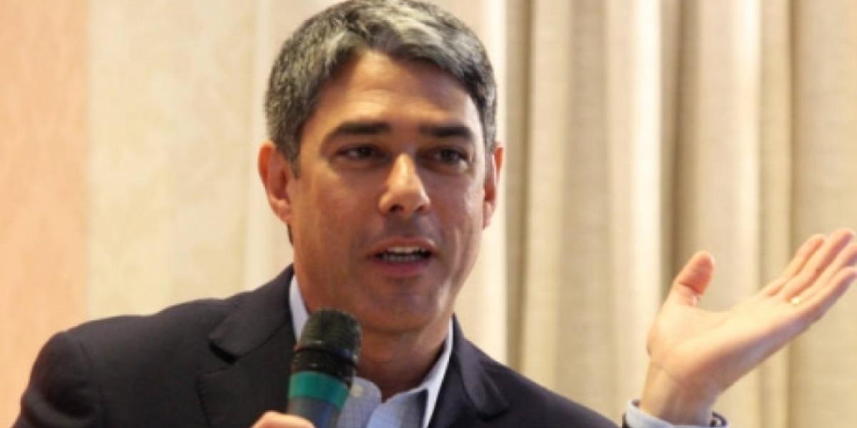 """Willliam Bonner é apresentador do """"Jornal Nacional"""", da Globo (Foto: Reprodução/TV Globo)"""