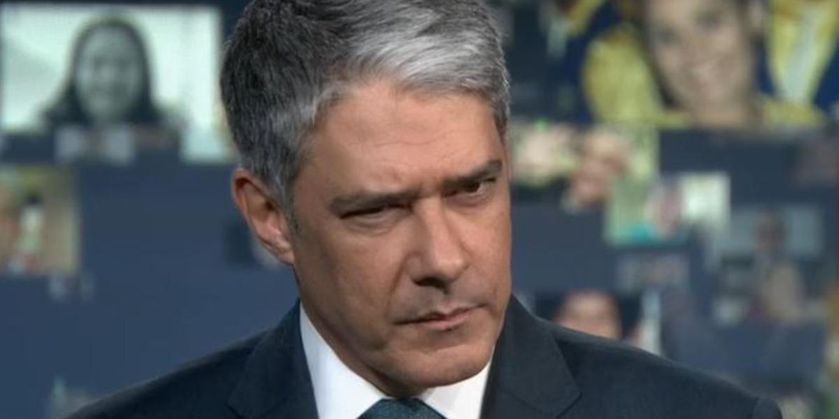 """William Bonner se envolveu em polêmica no """"Jornal Nacional"""" (Foto: Reprodução/TV Globo)"""