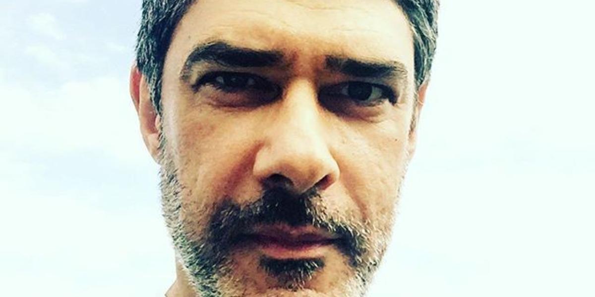 """William Bonner é âncora do """"Jornal Nacional"""" (Foto: Reprodução/TV Instagram)"""