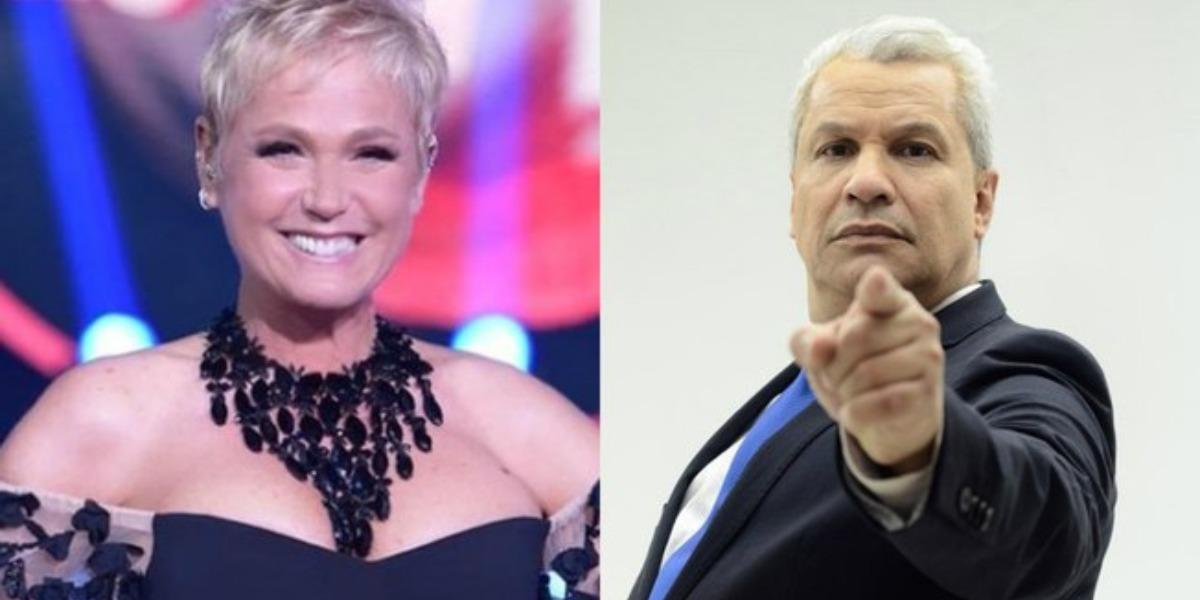 Sikêra Jr promove campanha contra Xuxa (Foto: Reprodução/Record/RedeTV!)