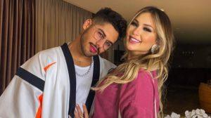 Zé Felipe, filho do cantor Leonardo, e a namorada, Virgínia Fonseca (Foto: reprodução/Instagram)