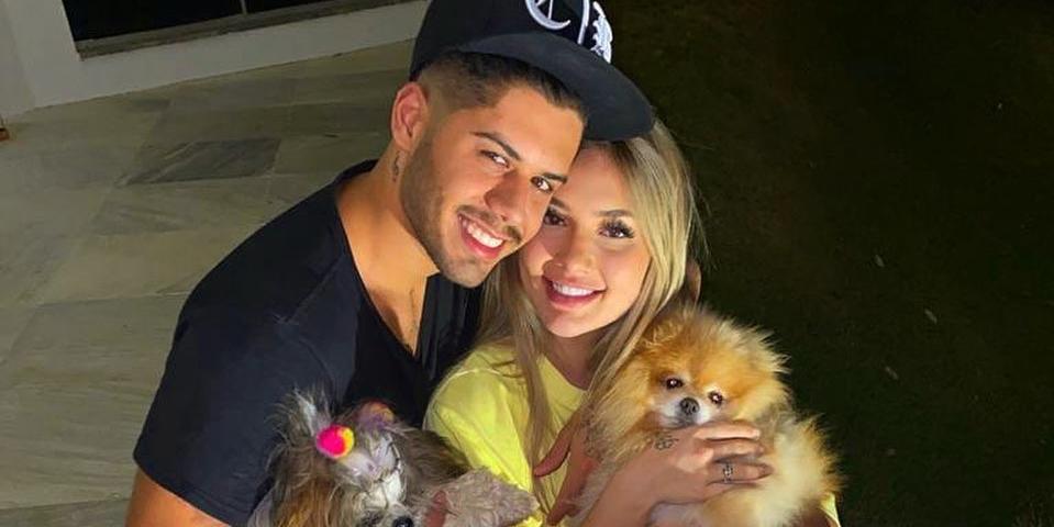 Zé Felipe e a namorada, Virgínia Fonseca (Foto: reprodução)