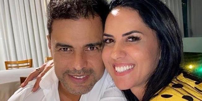 Zezé di Camargo é noivo de Graciele Lacerda (Foto: reprodução)