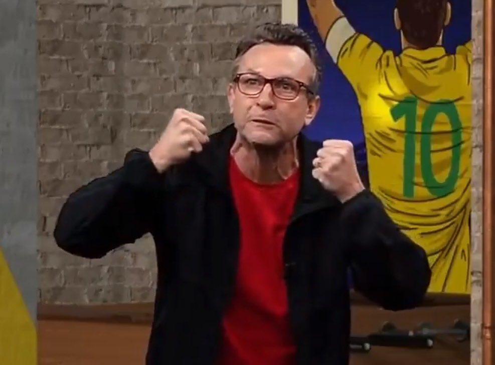 Neto ficou revoltado com Galvão Bueno (Foto: Reprodução)