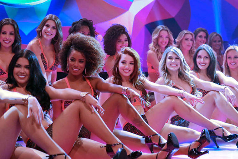 Bailarinas do Faustão (Foto: Reprodução / Globo)