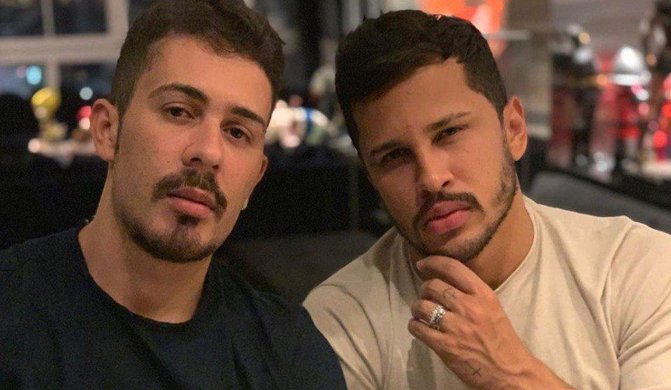 Carlinhos Maia e Lucas Guimarães vivem crise no casamento (Foto: Reprodução)