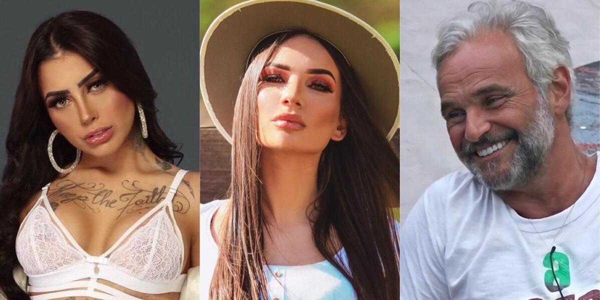 """Mirella, Stéfani Bays e Mateus Carrieri estão na Roça de """"A Fazenda 12"""" (Foto: Reprodução)"""