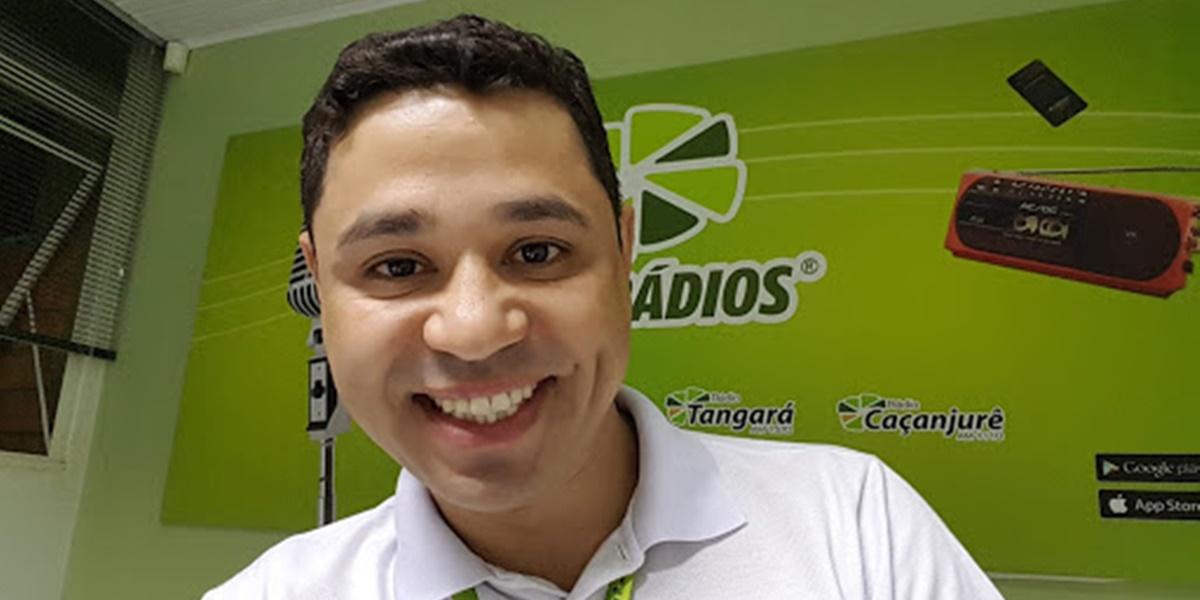 André Alves foi baleado pelo ex da namorada (Foto: Reprodução)