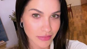 Andressa Suita voltou aos treinos (Foto: Reprodução)