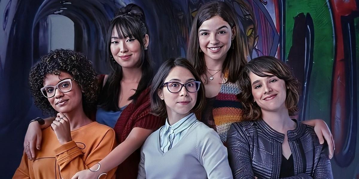 """""""As Five"""" estreou em horário nobre na Globo (Foto: Divulgação/Globoplay)"""