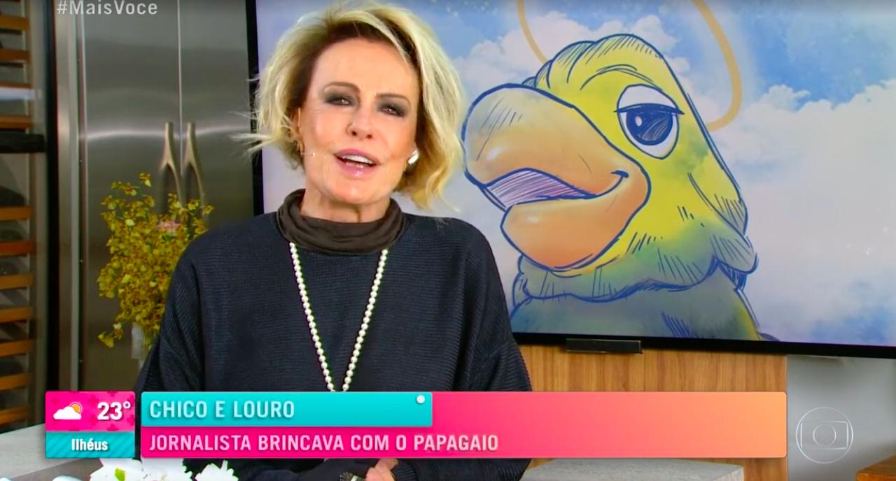 Ana Maria Braga se emociona (Reprodução)