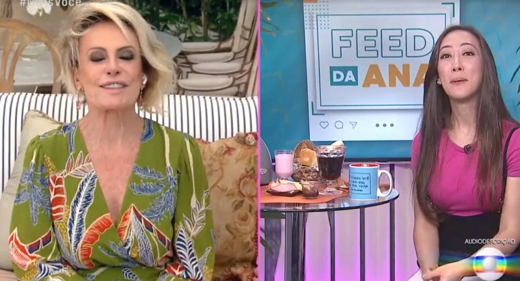 Ana Maria Braga, que comanda o Mais Você na Globo, anunciou a chegada de um novo componente (Foto reprodução)