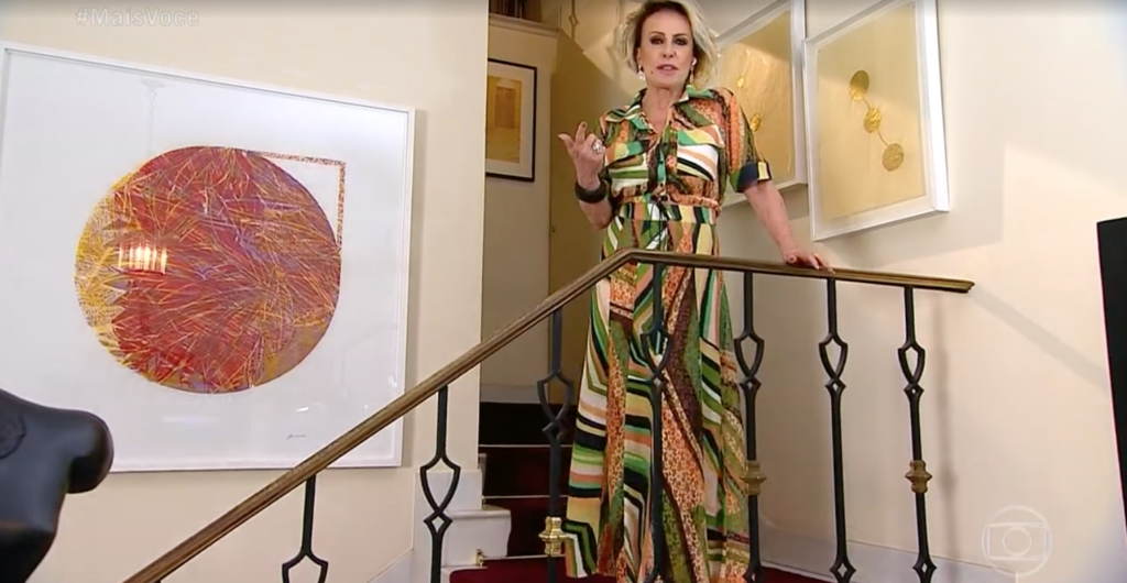 Ana Maria Braga abriu seu Mais Você de um jeito diferente (Foto reprodução)