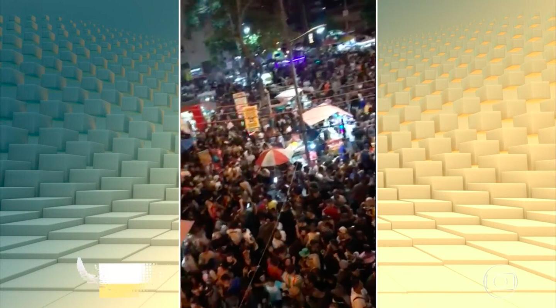 Rio de Janeiro tem festas que desrespeitam o isolamento social (Reprodução)