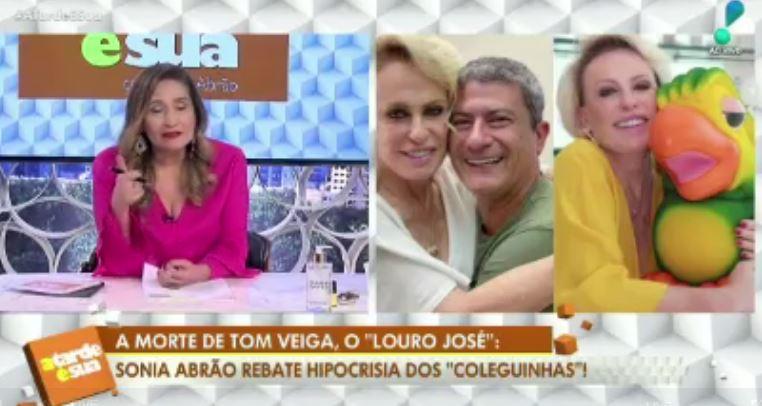Sonia Abrão fala sobre polêmica envolvendo morte de Tom Veiga (Reprodução: TV))