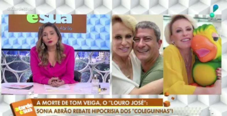 Jornalista fala sobre morte de Tom Veiga (Reprodução: TV)