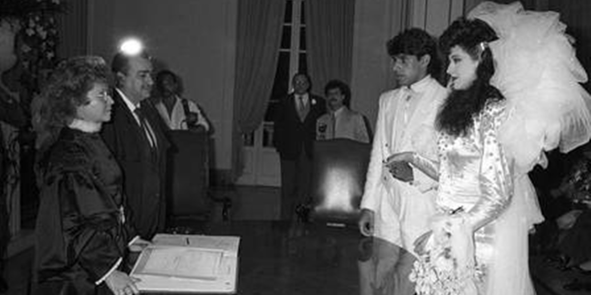 Claudia Raia durante casamento com Alexandre Frota (Foto: Reprodução)