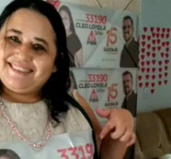 Cleo Loyola recebeu apenas 37 votos das urnas (Foto: Reprodução)