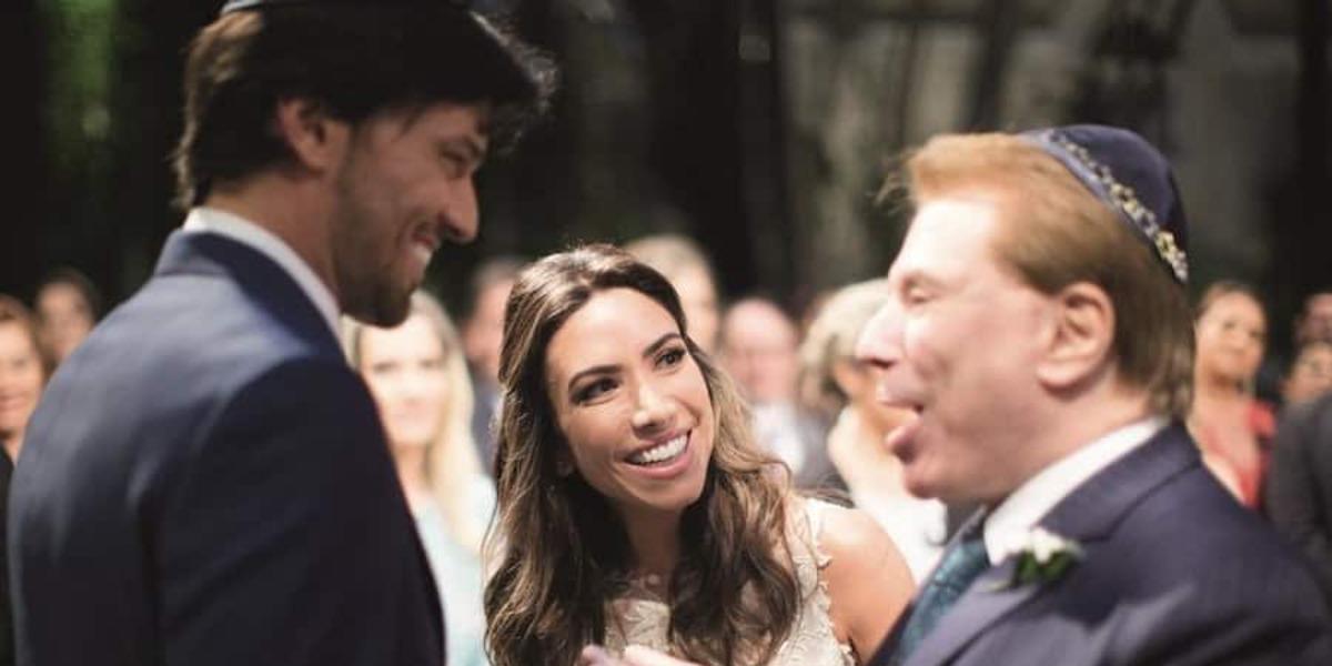Fábio Faria é marido de Patrícia Abravanel, filha de Silvio Santos (Foto: Reprodução)