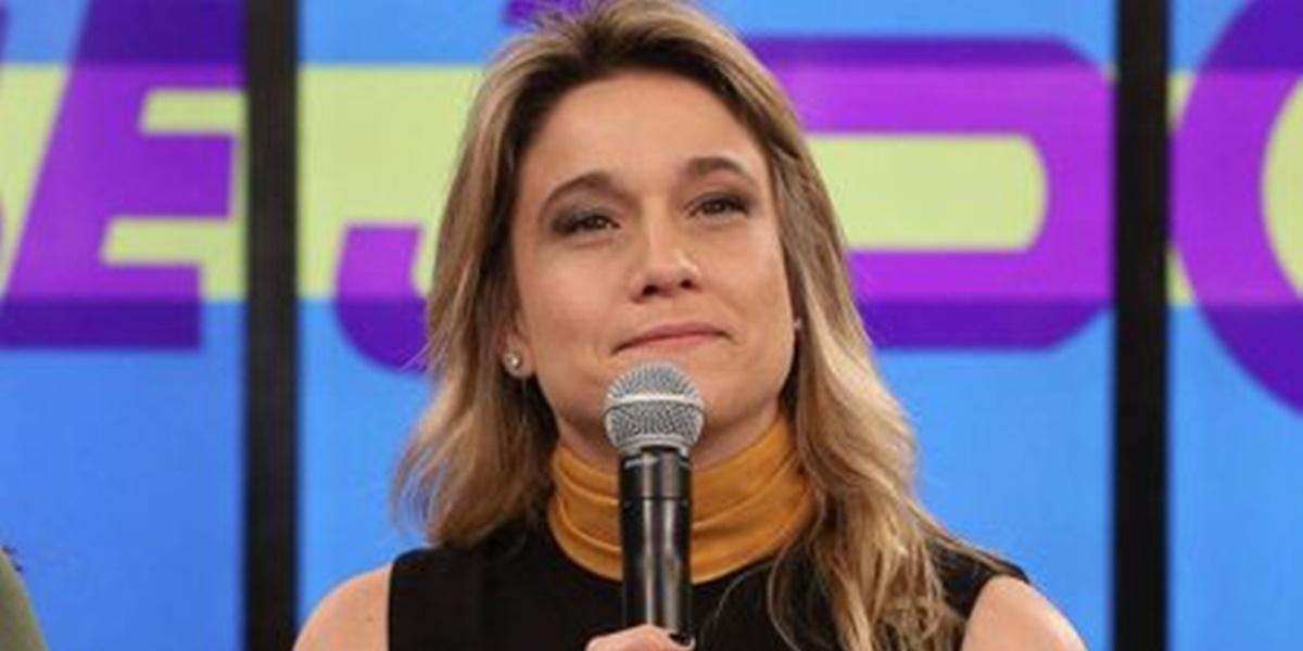 Fernanda Gentil: Globo tirou de vez o Se Joga do seu plano comercial (Foto: Reprodução)
