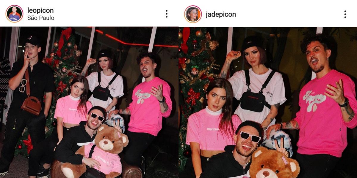 Jade Picon corta João Guilherme em publicação e fãs apontam crise no relacionamento (Foto: Reprodução/Instagram)