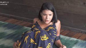Jakelyne Oliveira em A Fazenda 12 (Foto: Reprodução)
