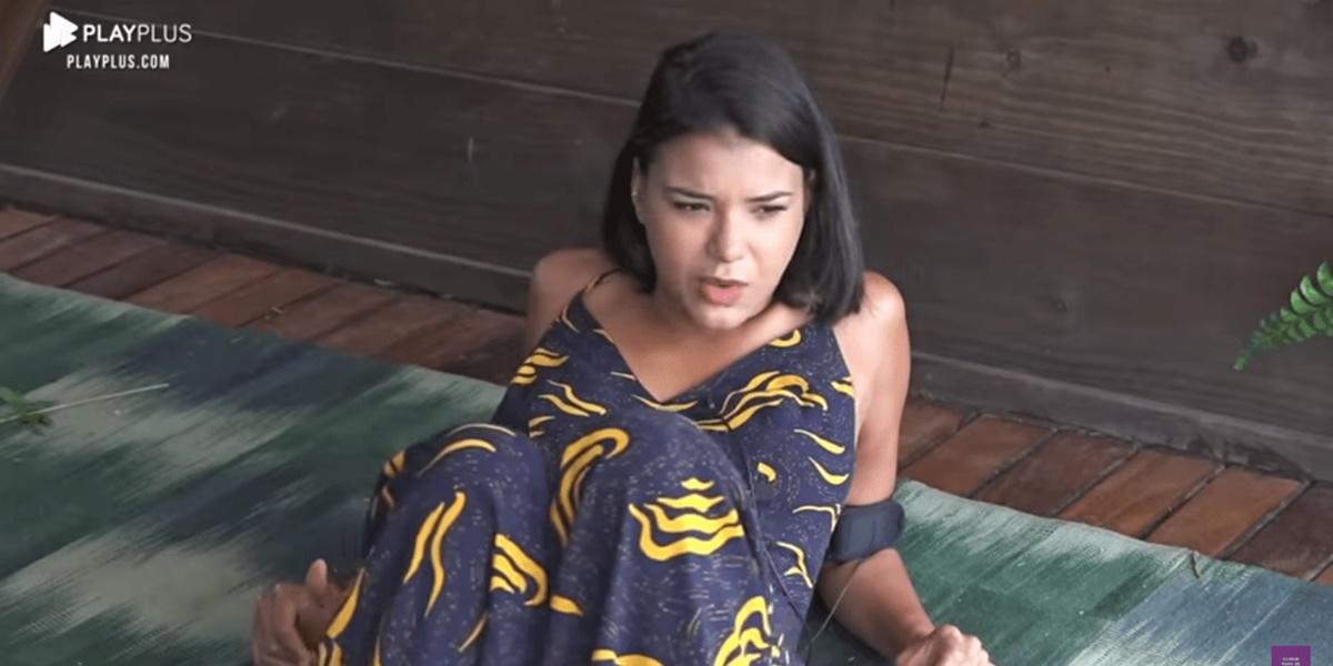 Invasão: Jakelyne Oliveira levantou possibilidade de drone ter invadido sede de A Fazenda 12 na web (Foto: Reprodução)