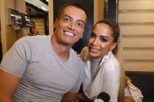 Leo Dias e Anitta eram amigos próximos (Foto: Reprodução)