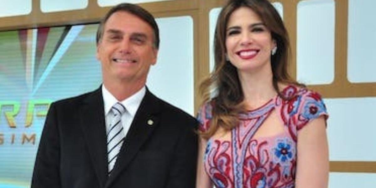 Jair Bolsonaro e Luciana Gimenez (Foto: Reprodução)