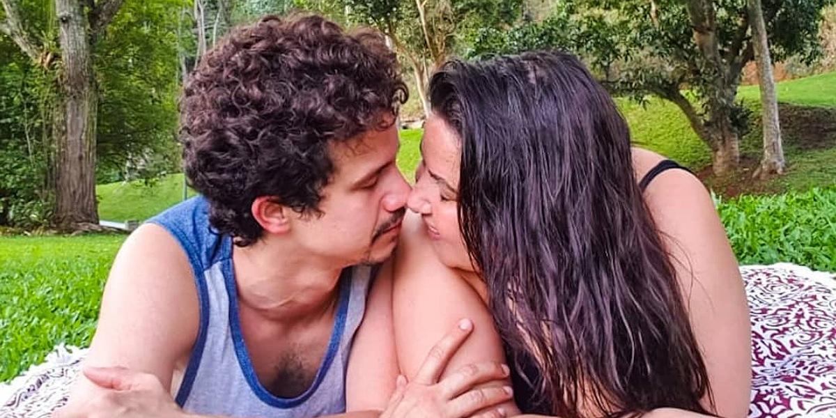 Mariana Xavier e o namorado Diego Braga (Foto: Reprodução/Instagram)
