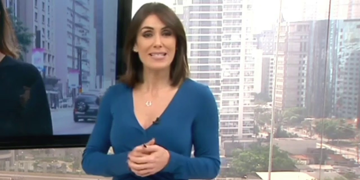 Michelle Barros é a nova substituta oficial de Rodrigo Bocardi na Globo (Foto: Reprodução)