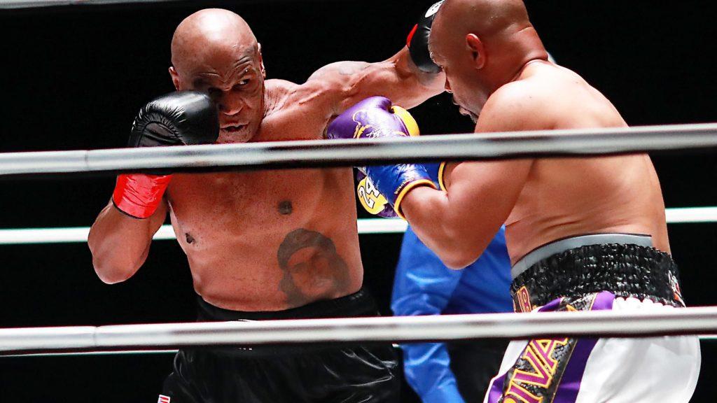 Mike Tyson explode na audiência de sábado (28/11)