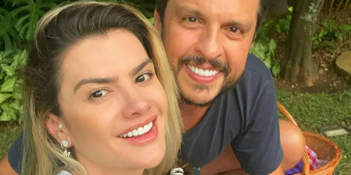 Esposa do humorista Ceará, Mirella Santos, bate a cabeça e é internada