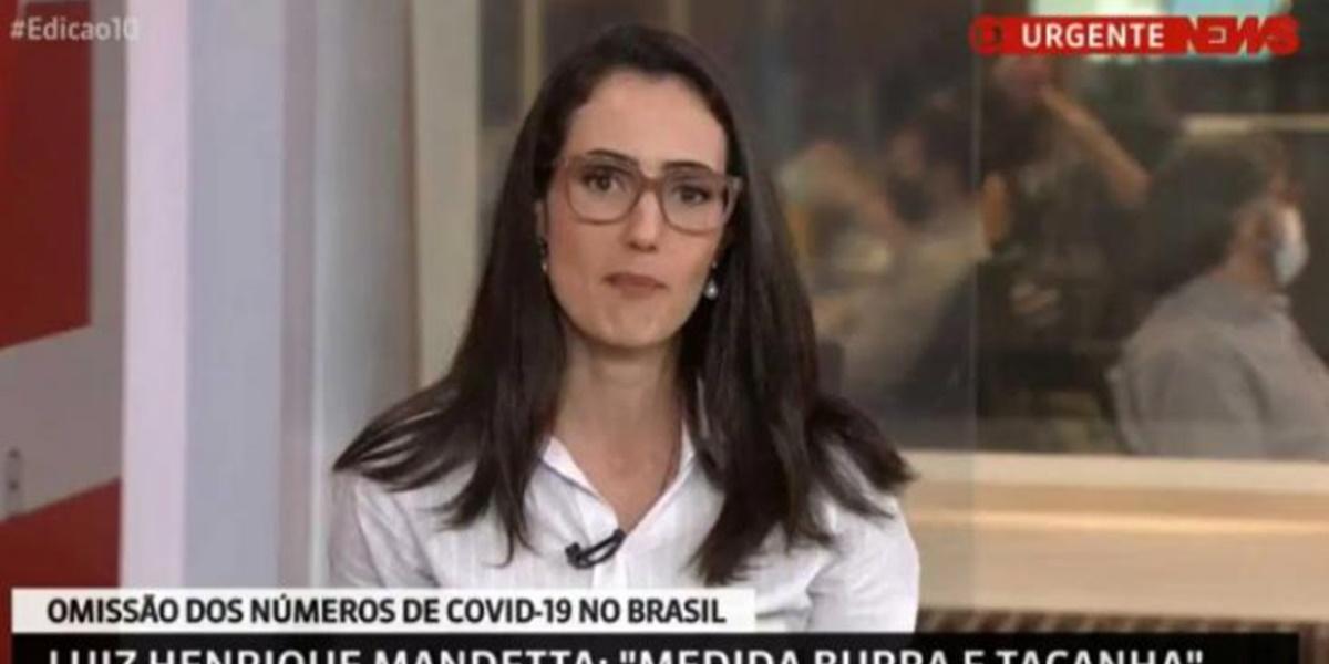 Jornalista Raquel Novaes foi demitida de forma inesperada da Globo (Foto: Reprodução)